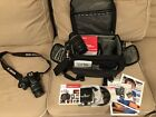 Canon EOS Rebel XSi 450D 122MP dSLR Camera with 18 55mm  55 250mm lenses