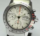 SINN AUTOBAHN 303 Automatic Chronograph Stainless Silver Dial 40M Used Men Watch