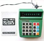 Commodore US-3 calculator green serial no 34 manual power supply working Japan