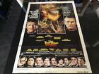 THE TOWERING INFERNO 1974 Orig One Sheet Movie Poster Signed By Robert Vaughn