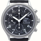 SINN 358.FLIEGER Chrono Valjoux7750 Automatic 42M Stainless Used Mens Watch