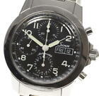 SINN 103 Day Date Automatic Chronograph Stainless Black Dial 42M Used Men Watch