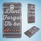 POSITIVE MOTIVATION QUOTES 78 HARD CASE FOR SAMSUNG GALAXY ACE 3 4 ALPHA