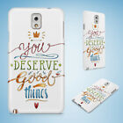POSITIVE MOTIVATION QUOTES 1 HARD CASE FOR SAMSUNG GALAXY ACE 3 4 ALPHA