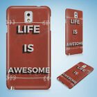 POSITIVE MOTIVATION QUOTES 61 HARD CASE FOR SAMSUNG GALAXY ACE 3 4 ALPHA