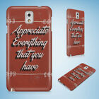 POSITIVE MOTIVATION QUOTES 55 HARD CASE FOR SAMSUNG GALAXY ACE 3 4 ALPHA
