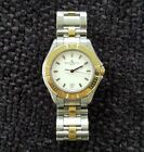 Baume & Mercier Classica Executive 18k Gold Bezel and Stainless Mv 045045 Watch