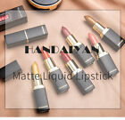 9Colors Lipstick Sexy Waterproof Shimmer Pearlescent Makrup Bling Lip Balm Matte