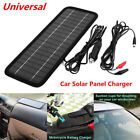 Portable 12V 45W Solar Panel Power Battery Charger Backup For Auto Car Van Boat