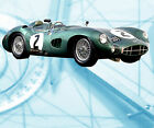 Auto Drawings Scale 1/12 1/16 1/24 & 1/32 ASTON MARTIN DBR 1/300  Notes  on CD