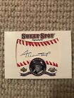 2001 UD Sweet Spot Signatures WILLIE MAYS Auto Signed HOF GIANTS