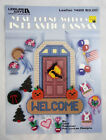 Year Round Welcome Sign in Plastic Canvas Pattern Leaflet 1429 Holiday