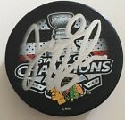 Chicago Blackhawks Joel Quenneville Signed 2015 Stanley Cup Puck