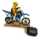 Tyco XTreme Cycle Radio Control Motorcycle RC TESTED RUNS GREAT