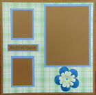 12X12 JUST ME  MY DAD PREMADE SCRAPBOOK PAGE LAYOUT MSND TONYA