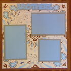 12X12 BROTHERS PREMADE SCRAPBOOK PAGE LAYOUT MSND TONYA