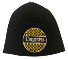 Triumph beanie motorbike motorcycle Embroidered Patch
