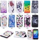 New Hot Sale Printed Patterned Wallet Flip PU Leather Stand Case Cover For Phone