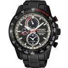 New Seiko SSC373 Men's Sportura Perpetual Solar Chronograph Watch