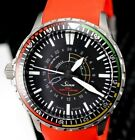 SINN EZM 7 43MM NEW Band With Box FullKit,Card Amazing Tool Watch FireFighter!!