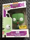 Funko Pop Invader Zim Glow In The Dark Gir Hot Topic Exclusive #12 Free Shipping