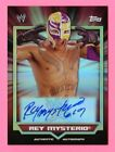 REY MYSTERIO AUTOGRAPHED 2011 TOPPS WWE CLASSIC CARD
