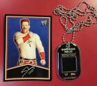 2013 Topps WWE Signature Series Dog Tags 11