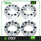 4Pc 2 50mm 6x1397 6X55 Wheel Spacers 12x125 Fit 2004 2014 For Nissan Titan