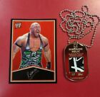 2013 Topps WWE Signature Series Dog Tags 17