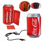 Portable Multicolor Coca Cola Type Shape Mini Car Auto Can Sized Refrigerator