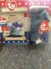 McDonald's American Trio 1996 version Lefty the Donkey Beanie Baby