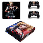The Harley Quinn & Suicide Squad Game Skin Sticker for Palystation 4 PS4 Slim