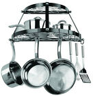 Wall Mount Pots and Pans Hanger Cookware Utensils Kitchen Organizer Pot Rack