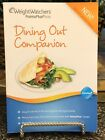 Weight Watchers Dining Out Companion Points Plus 2012