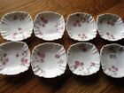 Carlsbad Austria Butter Pats set of 8 AK Scalloped Antique
