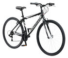 Travel Bike Outdoor Sports Commuter Black Frame Road Wheels Exercise Durable NEW