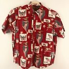 Clearwater Outfitters Mens Americana Short Sleeve Shitr XL