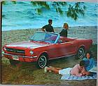Altes Blechschild Oldtiimer Ford Mustang Cabrio  Reklame Werbung gebraucht used