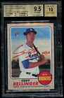 2017 Heritage Cody Bellinger Rookie 68 BGS 9.5 Auto Red Ink Real One RC -2 10's