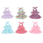 Doll Outfit Wavy Dress with Hair Band for 18inch Ameircan Girl Doll Accs