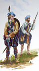 ORIGINAL MILITARY WATERCOLOUR PAINTING CLAN MACLACHLAN CULLODEN 1746
