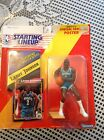 1992 STARTING LINEUP LARRY JOHNSON CHARLOTTE HORNETS  (ROOKIE PIECE)