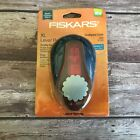 Fiskars Extra Large XL Lever Punch Scalloped Circle 2 inches