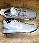 Nike KOBE A.D. Ruthless Precision Cool Grey Refractor 852425-010 Size 16
