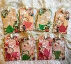 Set of 8 Hang Tags Shabby Tea Party Gift Tags Scrapbook Card Making Crafts 172