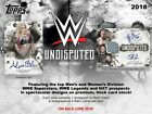 Topps 2018 WWE Undisputed Hobby Box - New, Sealed! Free 3-Day Shipping Included!