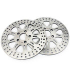 2x Front Brake Rotors Discs For Harley Dyna 1340 FXDL Low Rider Super Glide	FXR