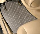 4-piece Set - Diamond Plate - Vinyl Floor Mats- Custom Fit - Jeep