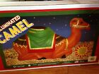 HTF NEW Christmas Nativity 28 Camel Lighted Blow Mold Yard Decoration