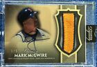 2017 Topps Dynasty Mark McGwire Patch Auto Gold Autograph #3 5 Cardinals